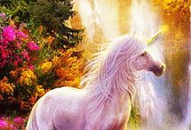 unicorns and other mythical crearures / by Alexandra Attwood