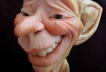 Sculpting dooll tutorials / by bo bobik