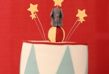 FIRST BIRTHDAY CIRCUS CAKES / by Kelly Caven