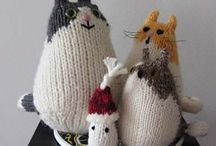 knitted objects / by Teresa P