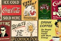 old ads / by Flavia Gaspar