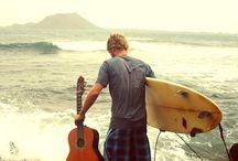 Surf, Beach and Ocean / by Bruno Custódio