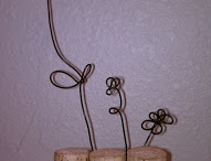 Cork Art / Art Ornaments and creations using wine cork and other cork / by Kathy Skaggs