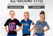 Gymnastics / by GTM Sportswear