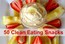 Clean eating snacks / by Nicole Frare