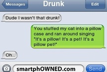LOL!!! :-) / by Heidi Branch
