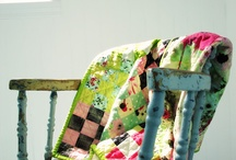 Patchwork & Quilting / Inspiration for patchwork and quilting. / by konfetti