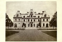 'Harbor Hill' / The Clarence Mackay estate designed by McKim, Mead & White between 1899-1905 in Roslyn on Long Island. / by Old Long Island/Beyond the Gilded Age