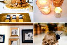 Wedding Theme - Black|White|Gold / by Milestone Events