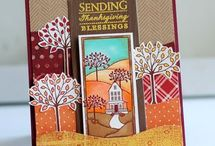 thanksgiving/fall cards / by Kathy Anzalone- Lisosky