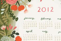 Calendars / by Julie Fei-Fan Balzer
