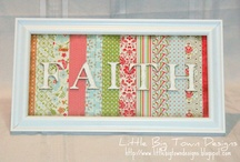 Craft Ideas / Find inspiration everywhere! Go... Create something fun & fabulous. Enjoy!  / by Cathy Trumbo