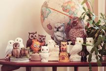 Owl Collection / by My Owl Barn