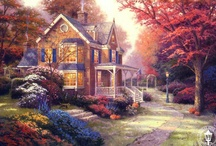 Thomas Kinkade Paintings / by Julie Chauvin
