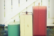 Vintage suitcase / by Kathy Faye