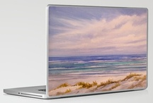 Laptops & IPad Skins / Laptop & IPad  skins designed from original art and photos. / by Rosie Brown