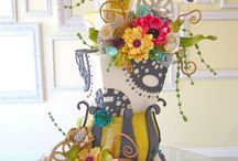 Offbeat wedding cakes / by Jenniffer White