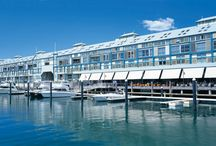 Blue Sydney / The award winning BLUE Sydney is perfectly located on the Wharf at Woolloomooloo Sydney and enjoys spectacular views of the Sydney Harbour foreshore, city sky line and The Royal Botanical Gardens. / by Taj Hotels Resorts and Palaces