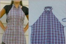 Sewing projects  / Shirt apron / by Denise Kinabrew