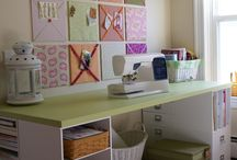 Sewing room / by tammy Szilveszter