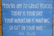 Dr.Suess Quotes / by suznneena