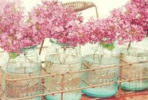 Glass jars / I have an obsession with glass jars!   vintage glass jars + recycled food jars + more.  Look what you can do with all of them - lighting + crafts + decor + flowers + gardens / by Yoreganics