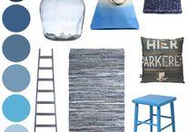 blauwe interieurs / by Arianne Stolk