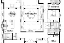 home floor plans / by Melissa Anderson