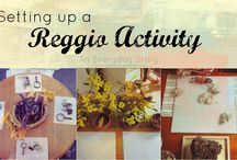 Reggio inspired - Provocations / by Alyce Thorp