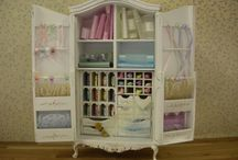 New Sewing Room Ideas / by Shirley Goforth- Ward