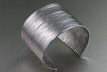 unique aluminum cuffs / by Lurlene Booth