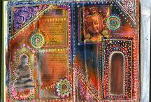 Art journal / by Erena DiGonis, LCSW