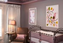 Lilac & Purple Nursery Design Ideas / Lilac and Gray are making a big splash this year! Consider adding them to your nursery. / by Personalized Baby Gifts, Baby Blankets & Nursery Bedding
