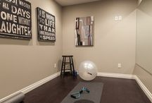 Home Gym Ideas / by Andrea Miller
