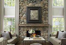 fireplace / by Kate Gatski