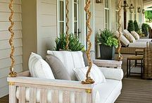 All Things Porches and Patios / Decorating ideas and landscaping for outdoor spaces!  / by Margaret ( Howell ) Up De Graff