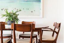 DINING ROOM INTERIORS / by Marja Harmon