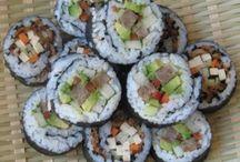 Vegan sushi / by Mandy Akers