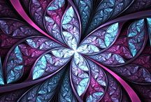 A Fractal Thing... / Fractal art I find beautiful and inspiring / by Chantavia Hightower