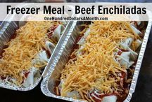 Freezer meals / by Bobbie Hallberg