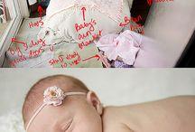 Snap it | Babies / Newborn inspiration. / by Amy Mitchell