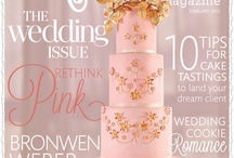Vintage Pink Wedding Inspiration / Cake Central Magazine Feb 2013 Wedding says THINK PINK / by Cake Central