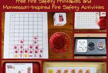 Police & Fire/Safety / Preschool Theme / by Jessica Winn