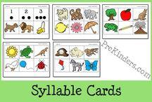 Syllables / Preschool / by Jessica Winn