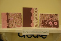 cards using scraps / by Gail Larsen