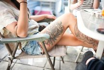 Leg Tattoo / by Carson Heiny