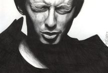 Pictures of Thom Yorke That I Like to Look at and You Can Look at, Too (am I doing this right?). / by Trey Summerlin