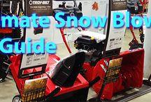 Snow Blower Buying Guide / by Lex Voitek