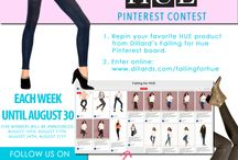 "Falling for HUE / ""I'm pinning this to participate in Dillard's Falling for HUE Sweepstakes. I could possibly win a pair of HUE leggings valued at up to $54!"" / by Barbara Ryan"