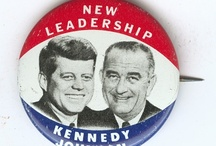 Campaign Buttons / campaiigningfor president in my time. 1940 -now  / by Una Kisamore